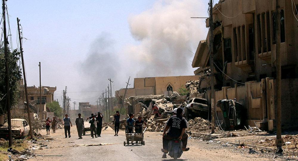 Inicia asalto de tropas iraquíes a Ciudad Vieja de Mosul