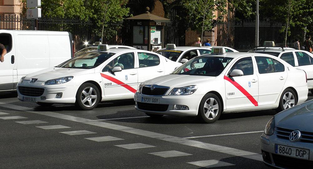 Taxi de Madrid (archivo)