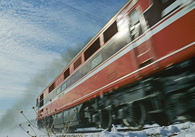Locomotora diésel (imagen referencial)