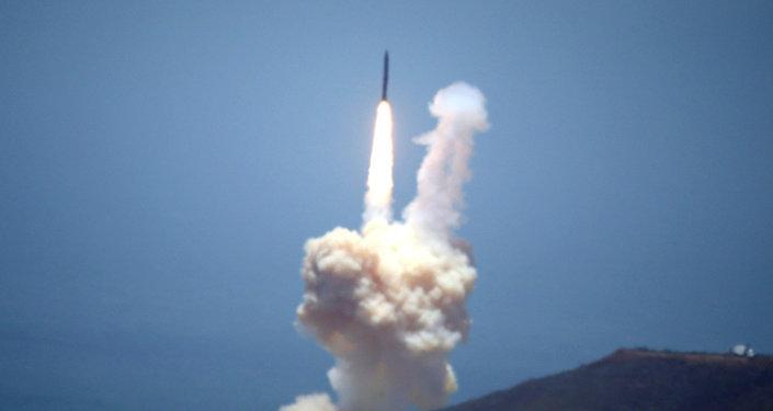 Ensayo de misil balístico intercontinental, EEUU (archivo)