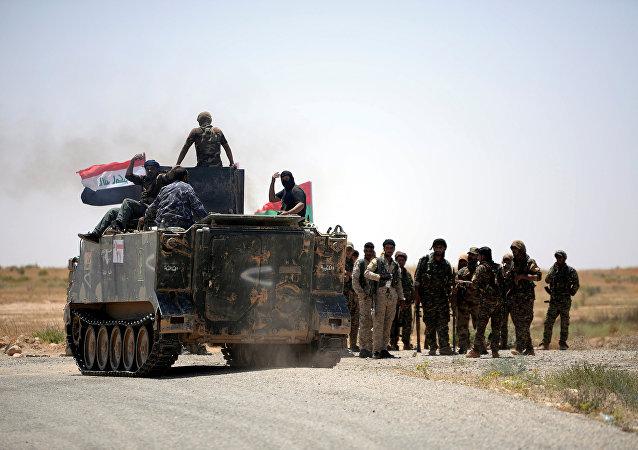 Los militares de Siria e Irak