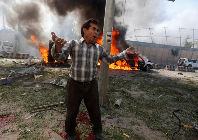 Un atentado sangriento en el barrio diplomático de Kabul