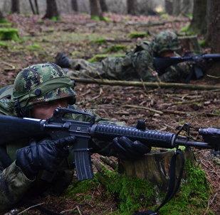 Soldados serbios