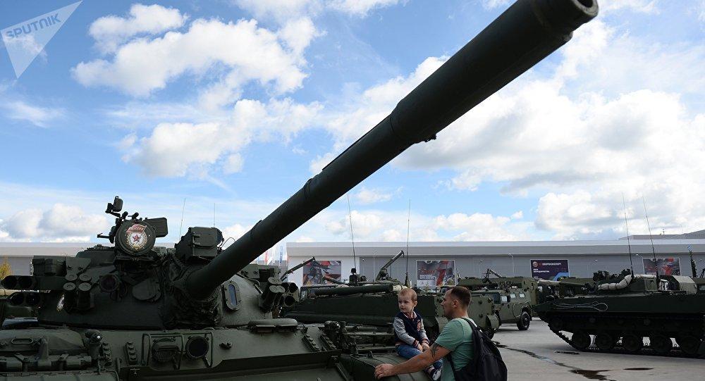 El tanque soviético T-55
