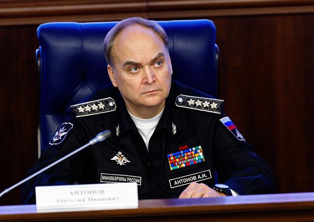 Anatoli Antónov, viceministro de Defensa de Rusia