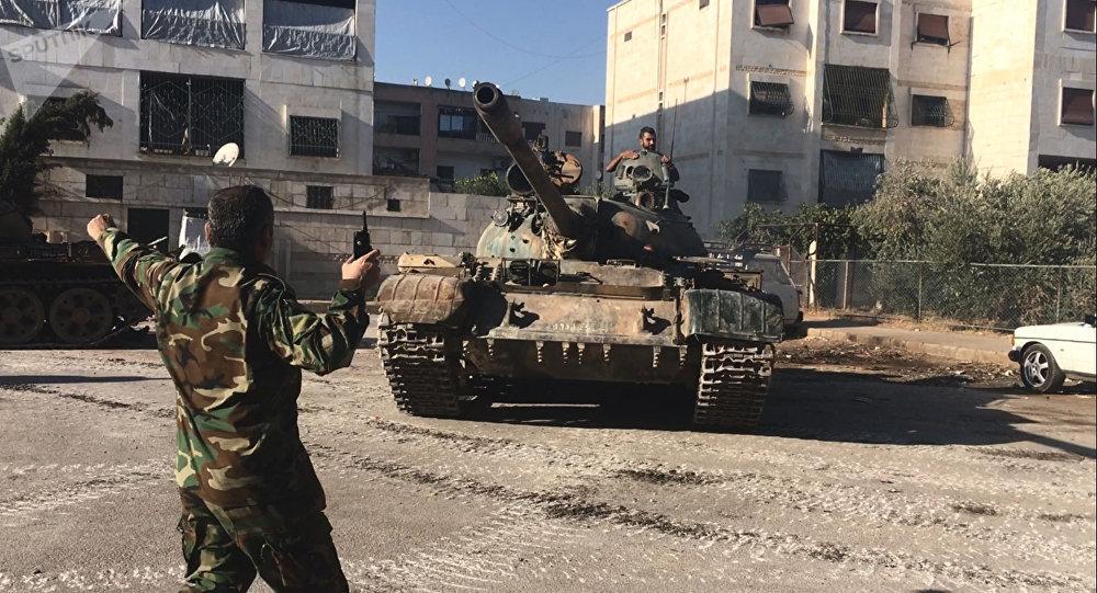 Soldados del Ejército de Siria (archivo)