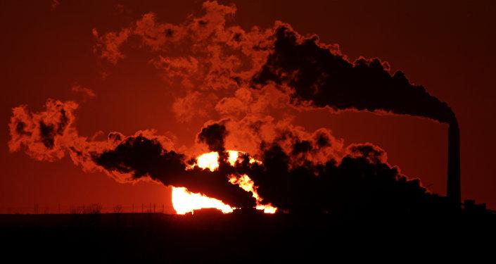 Central eléctrica alimentada por carbón en EEUU
