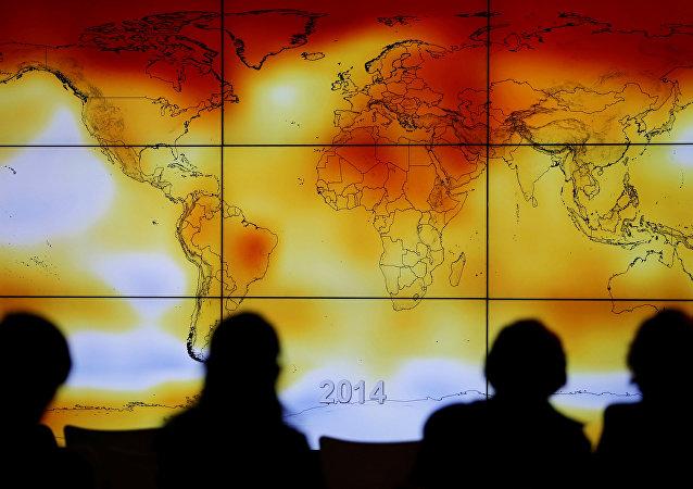 El cambio climático (imagen referencial)