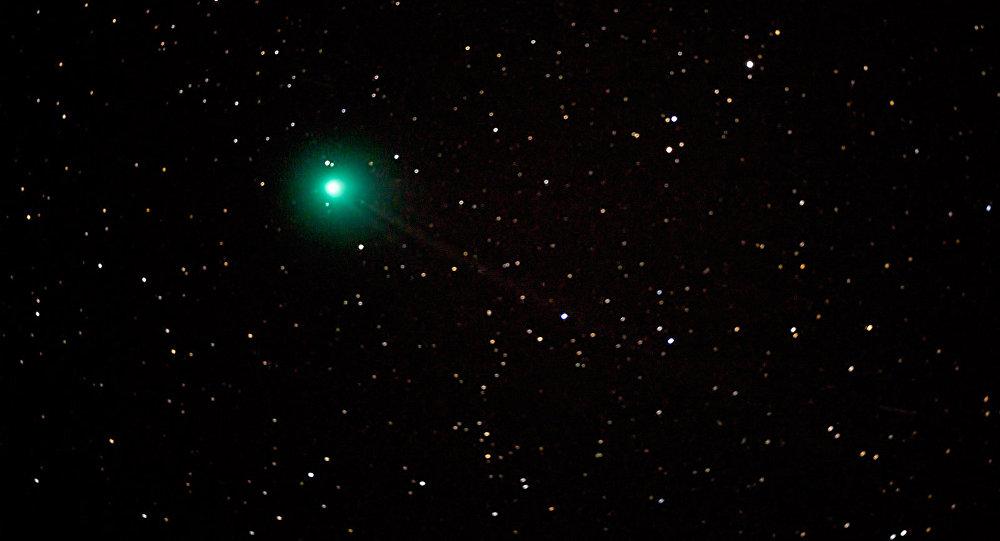 Un cometa (imagen referencial)