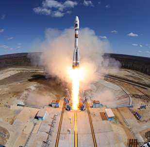 Primer lanzamiento desde el comsódromo Vostochni (archivo)