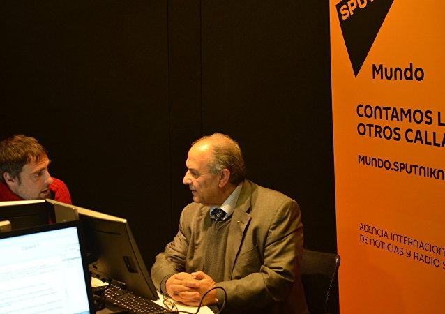 A 50 años de la Guerra de los Seis Días, el embajador de Palestina en Uruguay, Walim Abdel Rahim, visitó los estudios de Sputnik en Montevideo