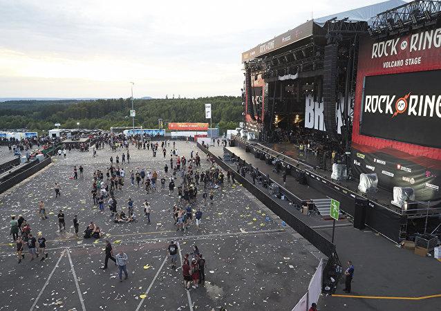Festival de música Rock am Ring en Nürburg, Alemania