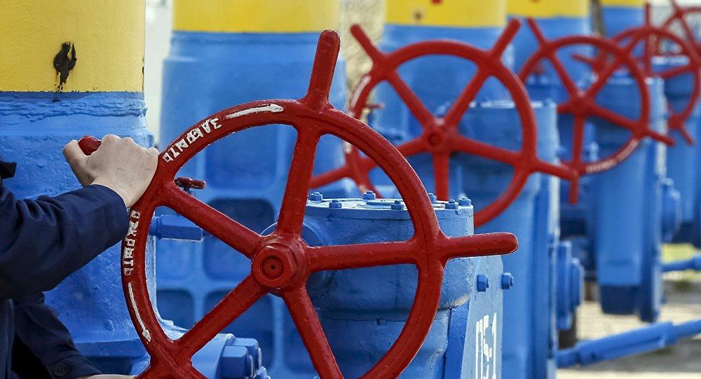 Gasoducto de Naftogaz en la región de Kiev