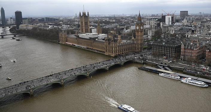 El Palacio de Westminster, sede del Parlamento británico