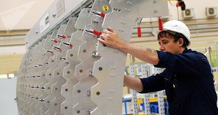 Fabricación de aviones en Rusia
