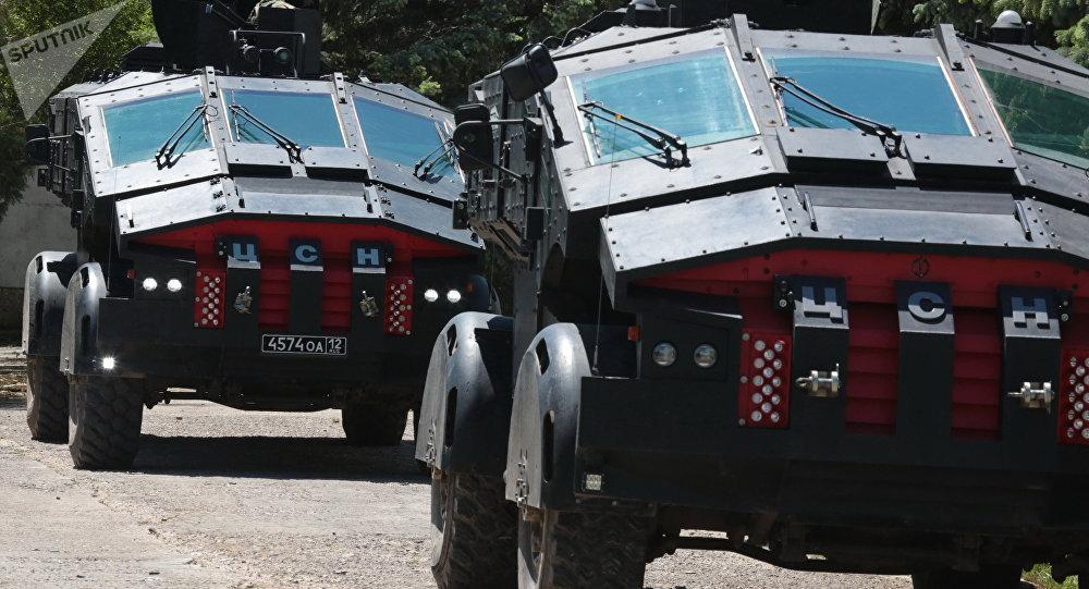 Nuevos vehículos blindados del Centro de Operaciones Especiales del FSB ruso
