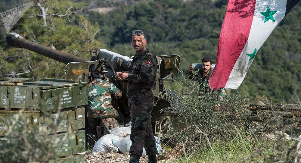 Soldados del Ejército sirio en la provincia de Idlib (archivo)