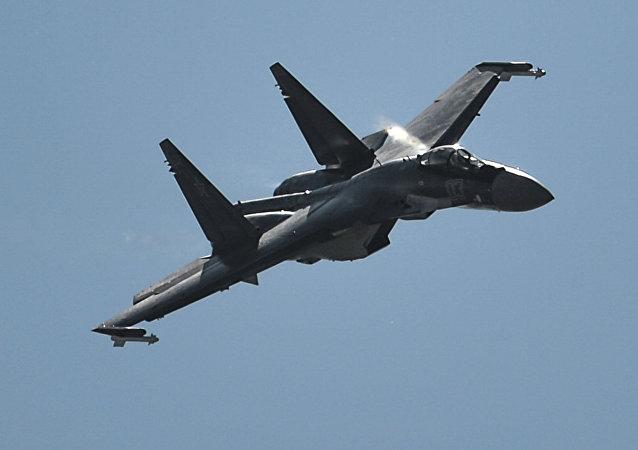 Caza Su-35S