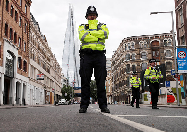 Policía de Londres (archivo)