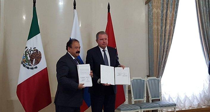Moscú y Ciudad de México firman un acuerdo de cooperación en el ámbito de la sanidad pública
