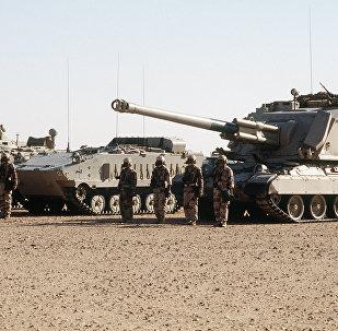 Fuerzas terrestres sauditas