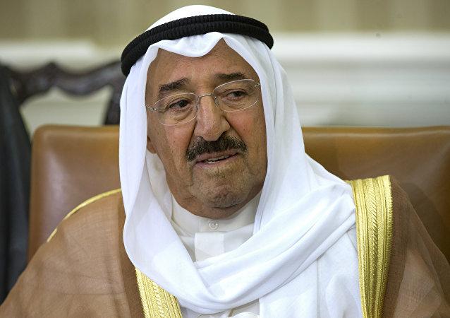 Emir de Kuwait, el jeque Sabah Ahmad Jaber Sabah