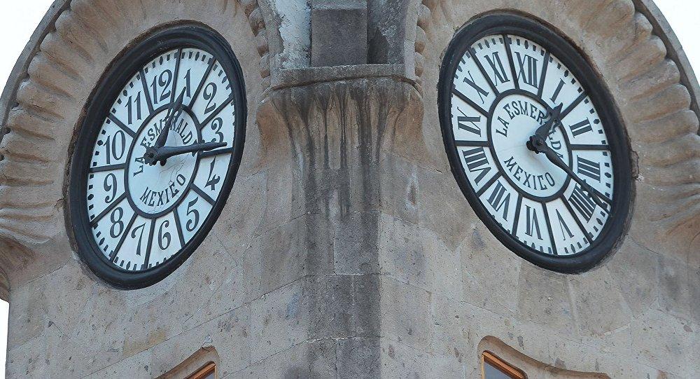 Un reloj en México