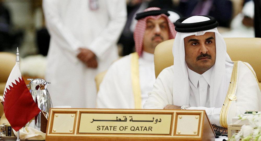 Tamim bin Hamad Thani, emir de Catar (archivo)