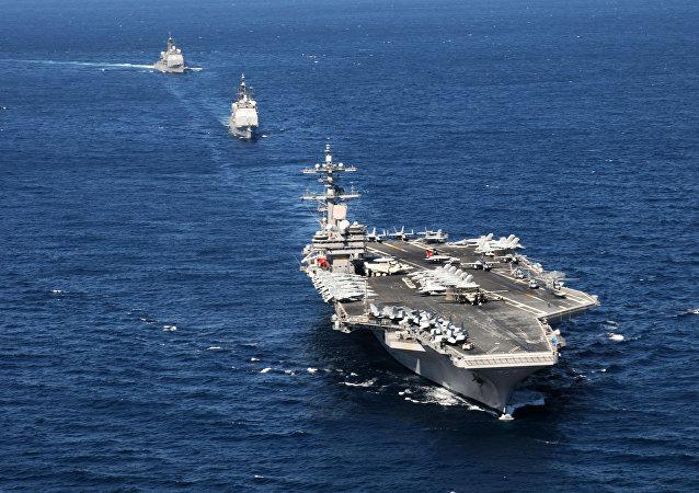 Portaviones USS George H.W. Bush (archivo)