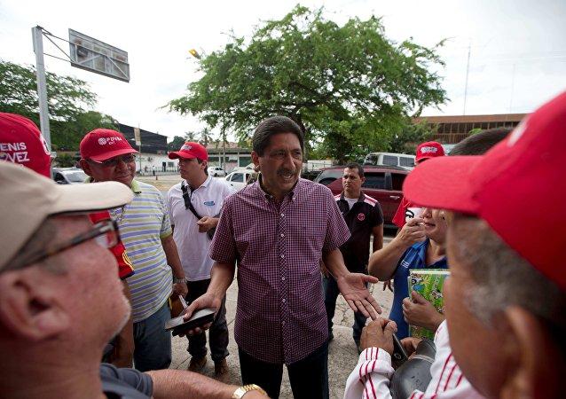 Argenis Chávez, gobernador de Barinas