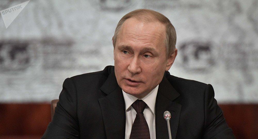 Vladímir Putin, presidente ruso (archivo)