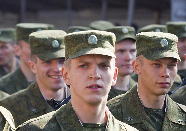 El soldado ruso