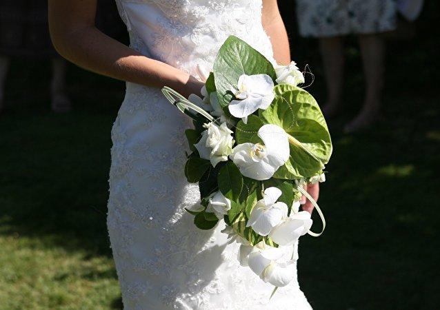 Una novia (archivo)