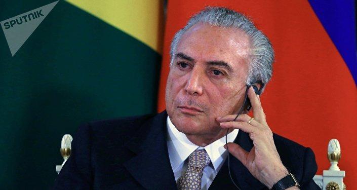 Vicepresidente de Brasil, Michel Temer