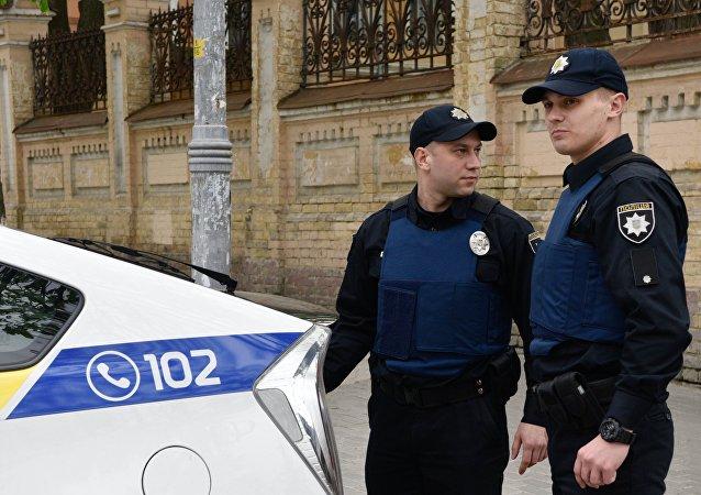 Los policías de Ucrania (archivo)