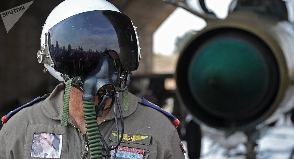 Las Fuerzas Aéreas de Siria