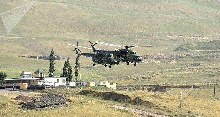 Maniobras antiterroristas conjuntas 'Dushanbe-Antiterror-2017' (archivo)