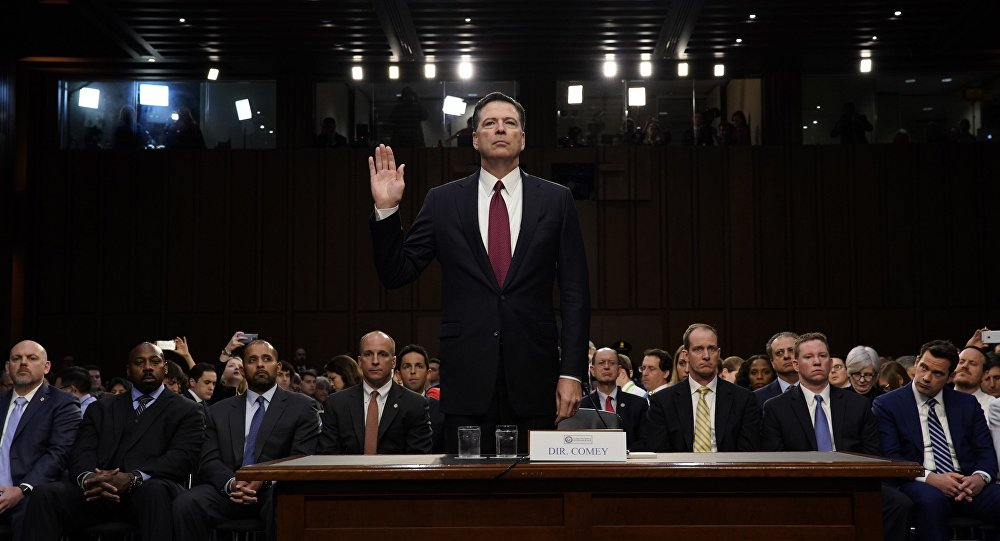 James Comey, exjefe del FBI