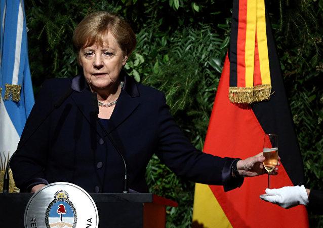 Angela Merkel, canciller alemana en Argentina