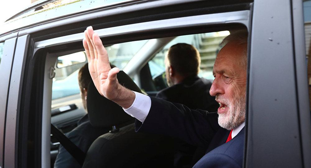 Jeremy Corbyn, líder del Partido Laborista (archivo)