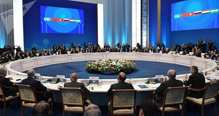 La cumbre de la Organización de Cooperación de Shanghái de en Astaná