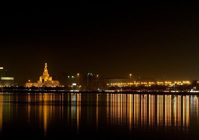 Doha, la capitál de Catar