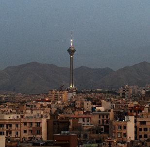 La torre Milad en Teherán, Irán