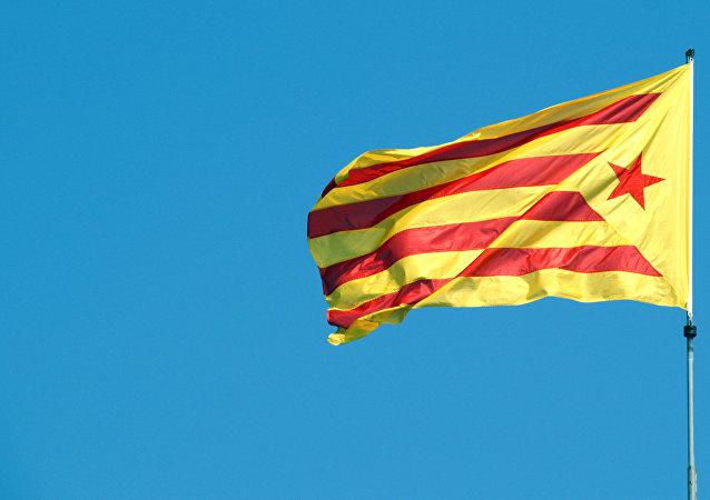 Bandera independentista catalana (archivo)