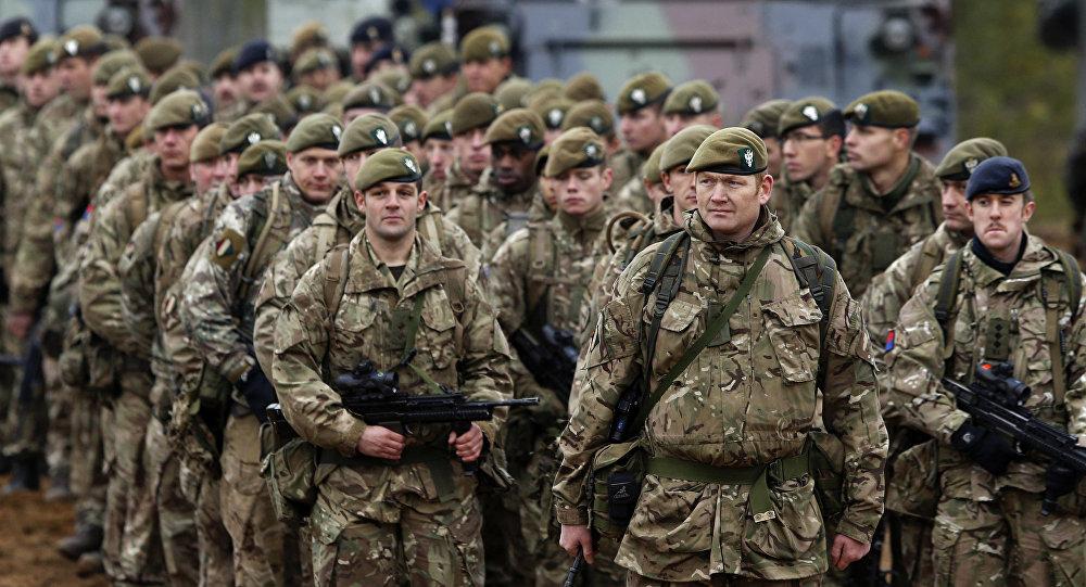 Las tropas de la OTAN (archivo)