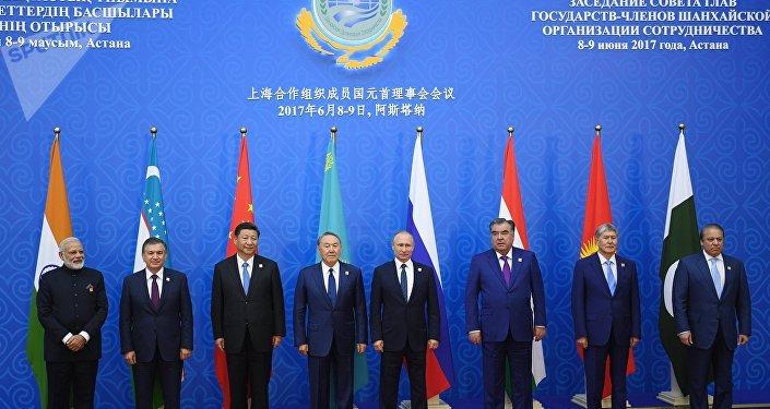 Ingreso de la India y Pakistán en la OCS