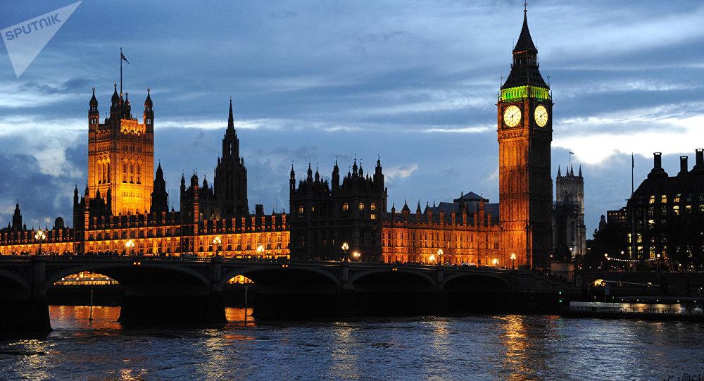 Palacio de Westminster, sede del Parlamento británico