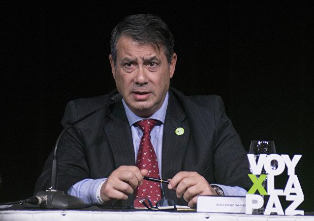 Guillermo Whpei, el presidente de la Fundación para la Democracia Internacional