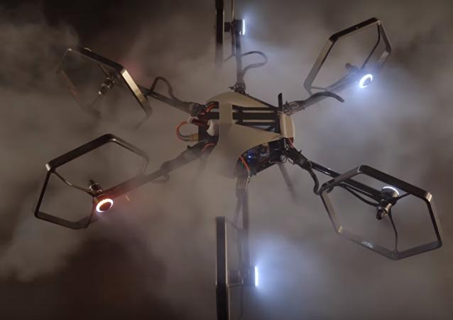 Un dron omnidireccional