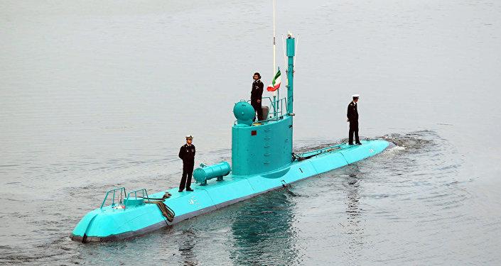 El submarino iraní de la clase Ghadir (archivo)
